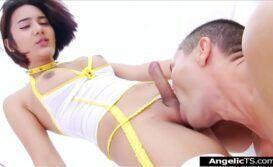 Dando cu e comendo o rabo do macho
